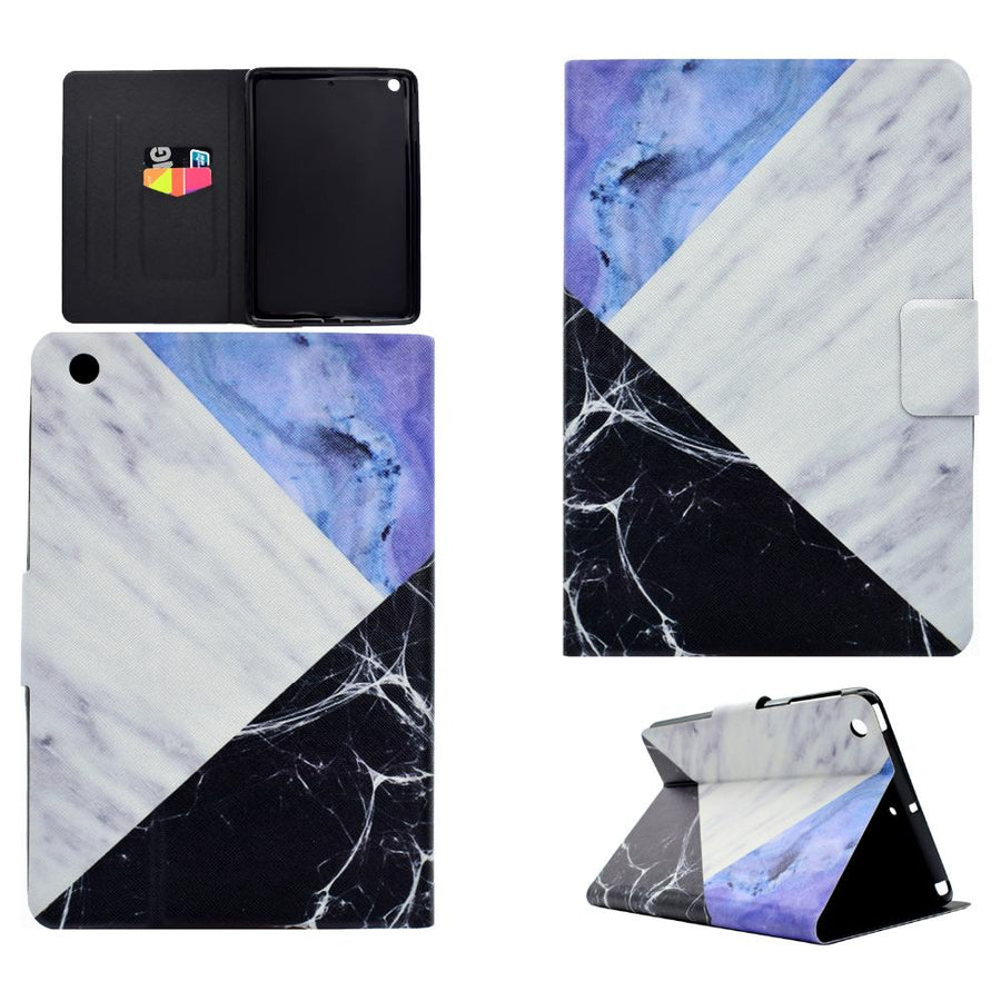 Apple iPad Mini Marble Soft Cover & Stand with Magnet Closure - A Office by Independent She