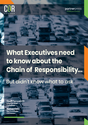 What Executives need to know about the Chain of Responsibility