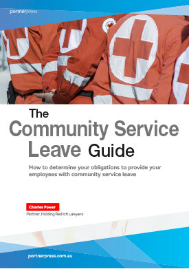 The Community Service Leave Guide