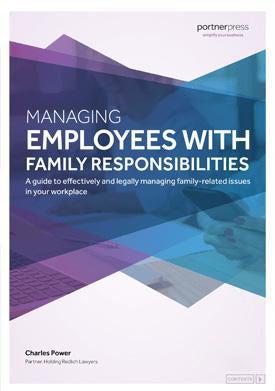 Managing Employees with Family Responsibilities