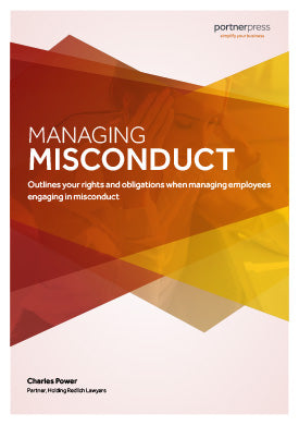 Managing Misconduct