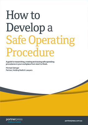 How to Develop a Safe Operating Procedure