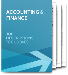 Accounting & Finance (Job Description)