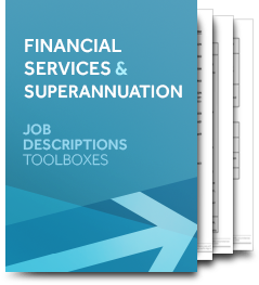 Financial Services & Superannuation (Job Description)