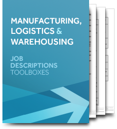 Manufacturing, Logistics & Warehousing (Job Description)