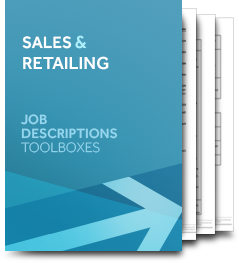 Sales & Retailing (Job Description)
