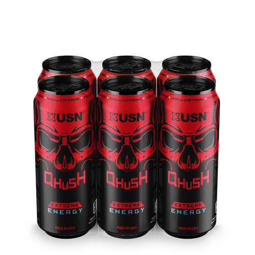 Qhush Energy Red Rush