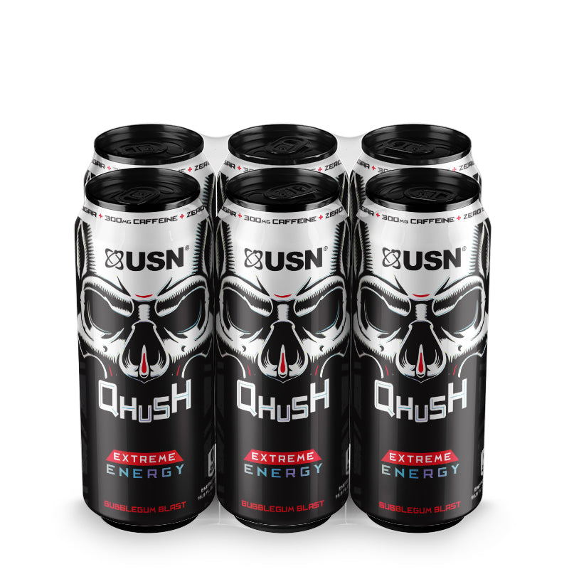 Qhush Energy Bubblegum Blast