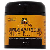 Sunny Isle Jamaican Black Castor Oil Butter - 4oz - Jamaican Black Castor Oil & Hair Repair