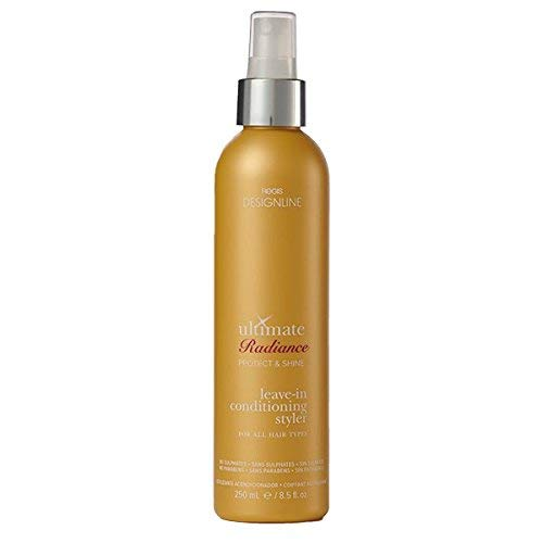 Ultimate Radiance Leave-In Conditioning Styler, 8.5 oz - Regis DESIGNLINE - Deep Conditioner Treatment that Reconstructs Damaged Hair and Repairs Split Ends (8.5 oz): Free Shipping - Jamaican Black Castor Oil & Hair Repair