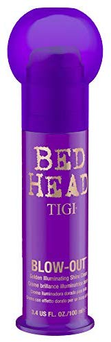 TIGI Bed Head Blow-Out Golden Illuminating Shine Cream, 3.4 Ounce - Jamaican Black Castor Oil & Hair Repair