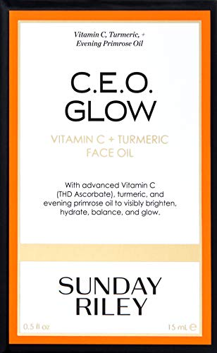 Sunday Riley C.E.O. Glow Vitamin C & Turmeric Face Oil