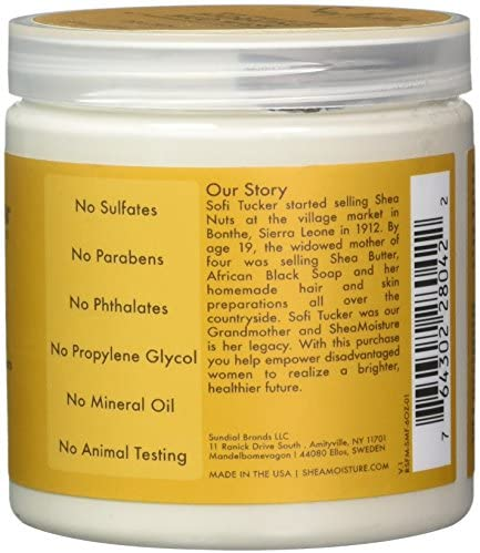 Shea Moisture Raw Shea Butter Hydrating Mud Mask by Shea Moisture for Unisex - 6 oz Mask, 177 ml
