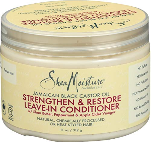 Sheamoisture, Conditioner Leave In Strengthen Restore, 11 Ounce -Shipping from Australia