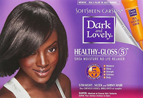 SoftSheen-Carson Dark and Lovely Healthy-Gloss 5 Shea Moisture No-Lye Relaxer: Free Shipping - Jamaican Black Castor Oil & Hair Repair