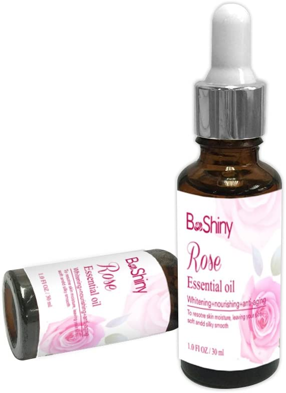 Rose Essential Oil Brightening, Smoothing and Softening 30ml Rose Oil: Free Shipping