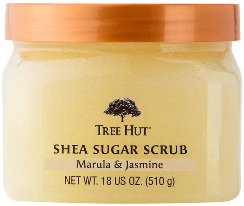 Tree Hut Shea Sugar Scrub Marula Jasmine 18 oz 510 g