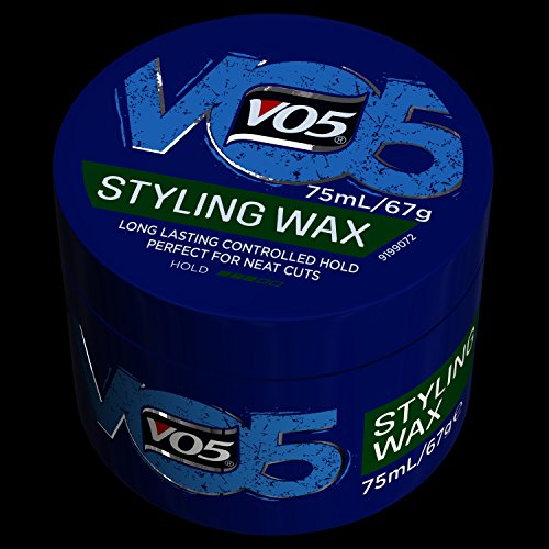 Vo5 Hair Gel Style Wax Groomed, 75ml - Jamaican Black Castor Oil & Hair Repair