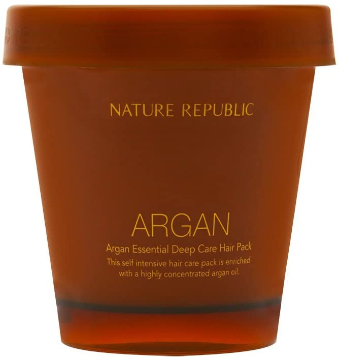 Nature Republic Argan Essential Deep Care Hair Pack, 200 Gram
