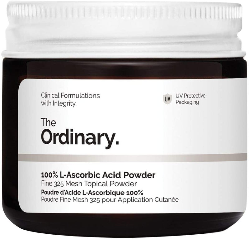 The Ordinary 100% L-Ascorbic Acid Powder Fine 325 Mesh Topical Powder w/ Vitamin C