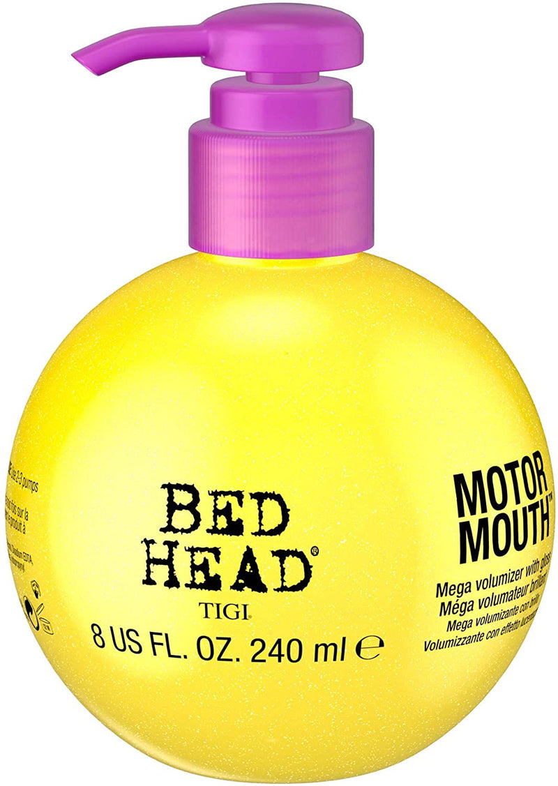 TIGI Bed Head Motor Mouth Mega Volumizer With Gloss, 240ml, clean, Pack of 1 (140497)