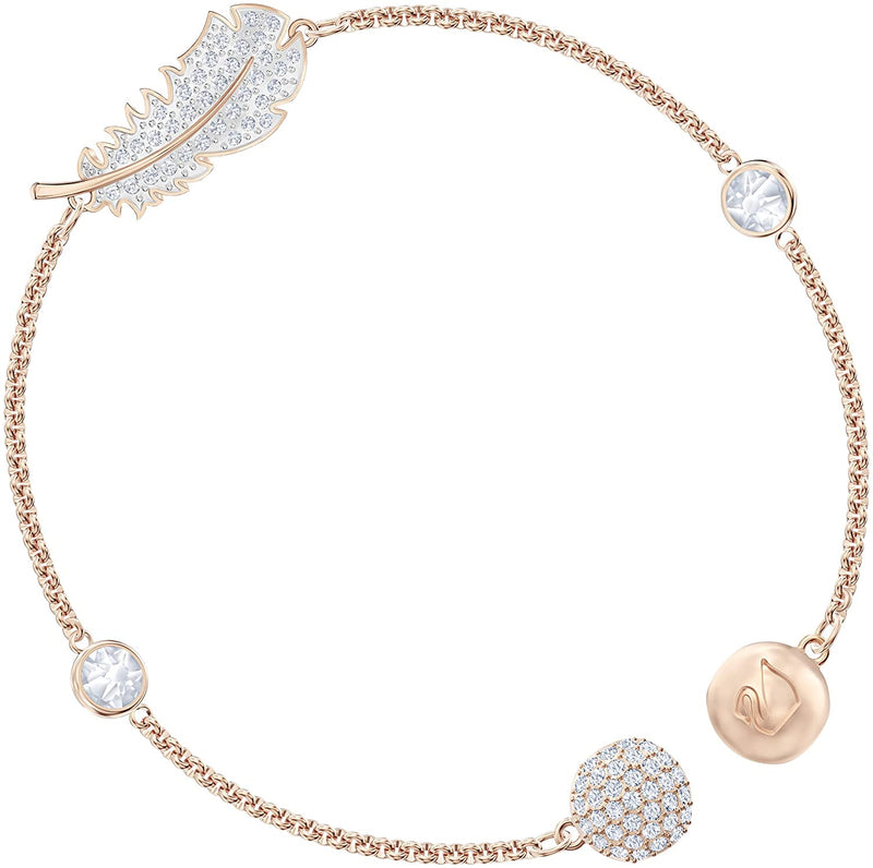 Swarovski Women's Pearl Strand Bracelet, Brilliant Swarovski Crystals, from The Swarovski Remix Collection