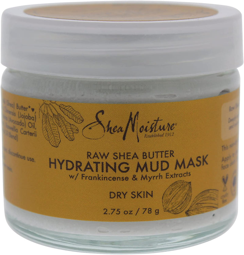 Shea Moisture Raw Shea Butter Hydrating Mud Mask by Shea Moisture for Unisex - 2.75 oz Mask, 78 g