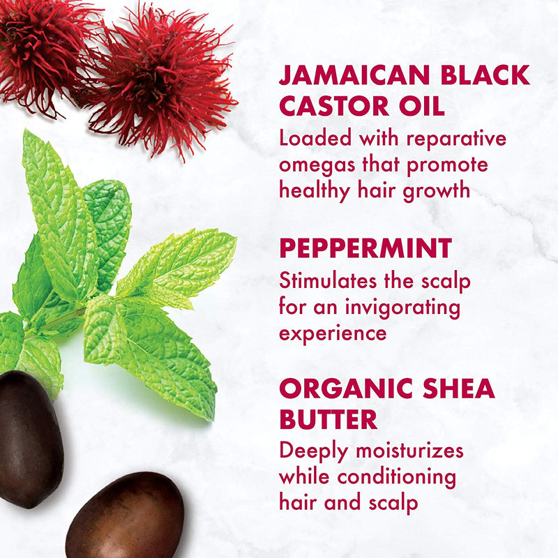 SheaMoisture Jamaican Black Castor Oil Conditioner, 13 Ounce - Jamaican Black Castor Oil & Hair Repair