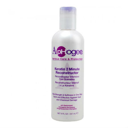 Aphogee 2 Minute Keratin Hair Reconstruction Intensive Repair Treatment: Free Shipping - Jamaican Black Castor Oil & Hair Repair