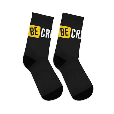 BE CREATIVE Black DLYSI Socks