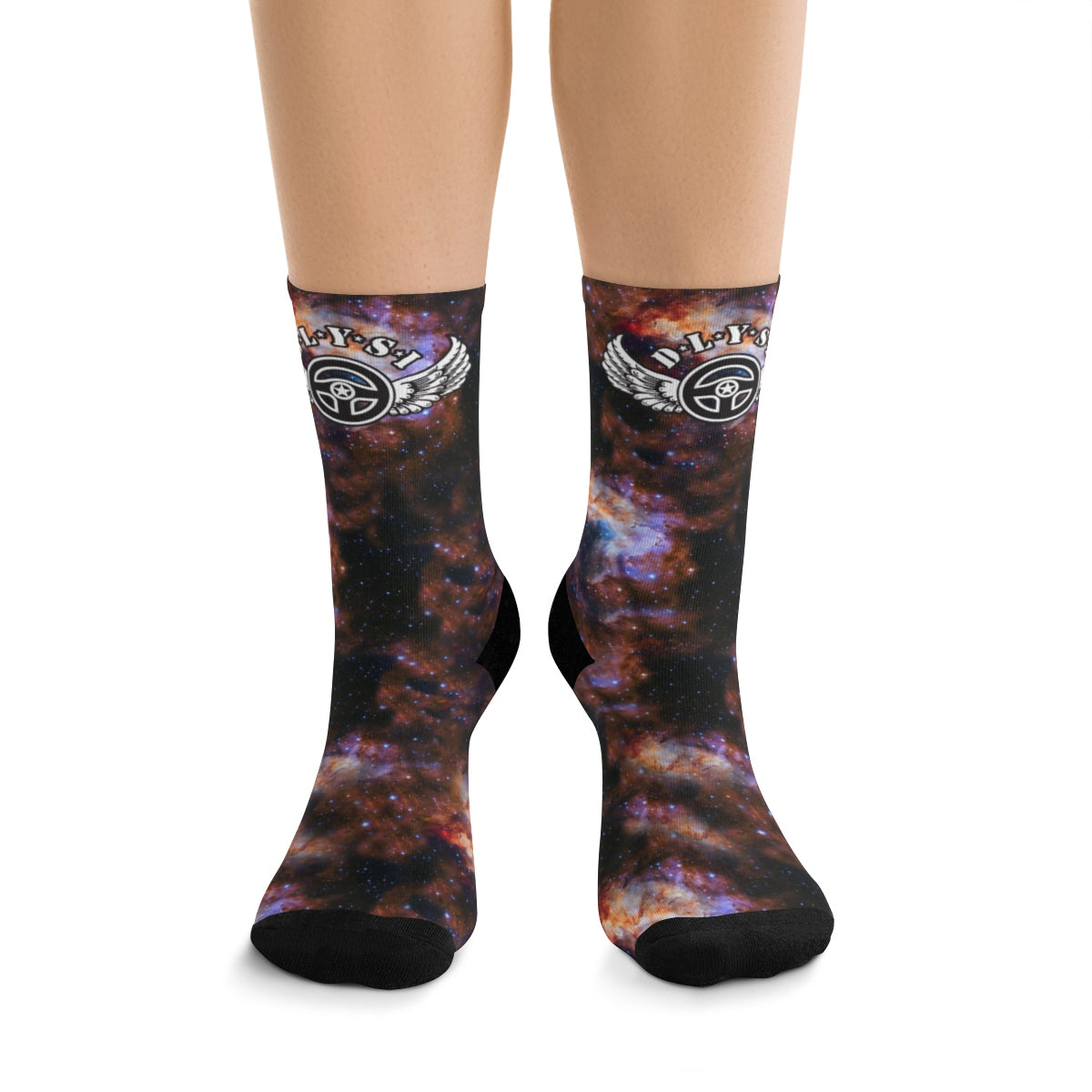 D*L*Y*S*I Cosmo Socks
