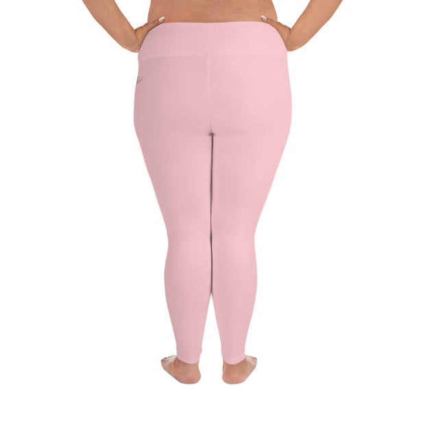 DLYSI Pink Plus Size Leggings