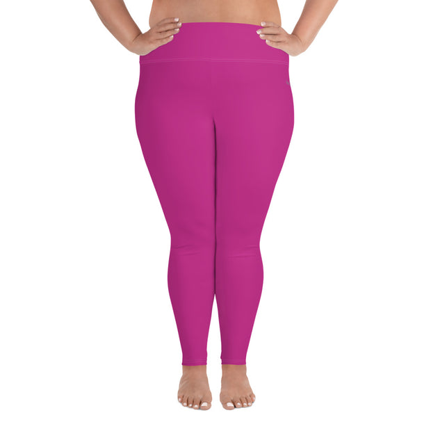 DLYSI Fuchsia Plus Size Leggings