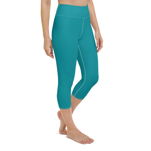DLYSI Aqua Yoga Capri Leggings