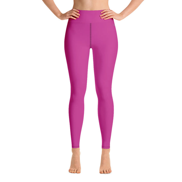 DLYSI Fuchsia Yoga Leggings