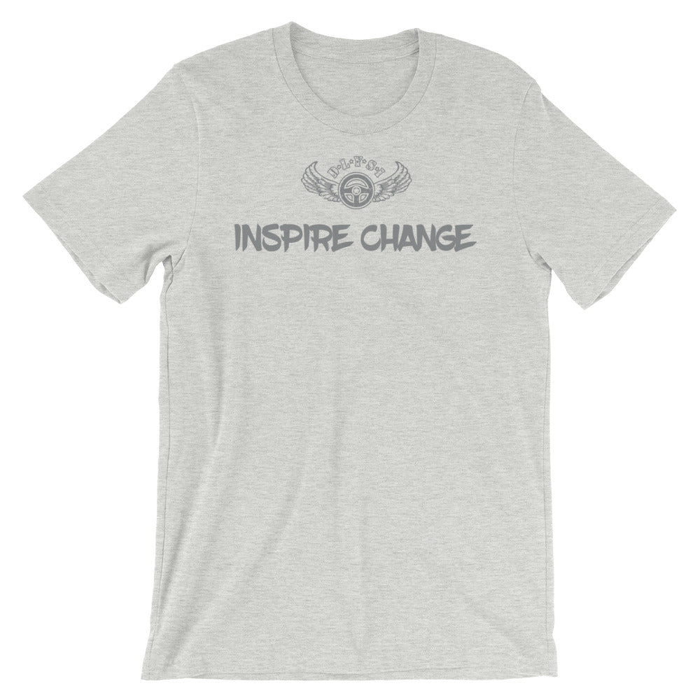 INSPIRED TO ... INSPIRE CHANGE Men's Short-Sleeve T-Shirt