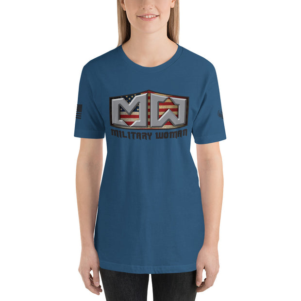 MILITARY WOMAN Short Sleeve Women's T-Shirt