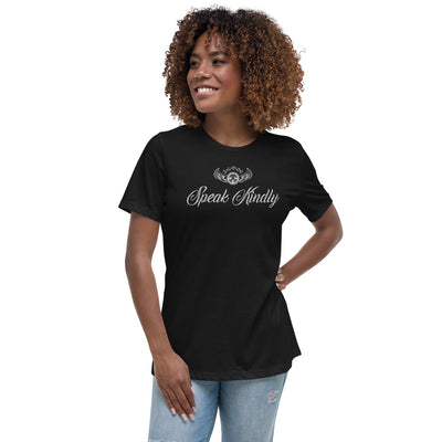 INSPIRED TO ... SPEAK KINDLY Women's Relaxed T-Shirt