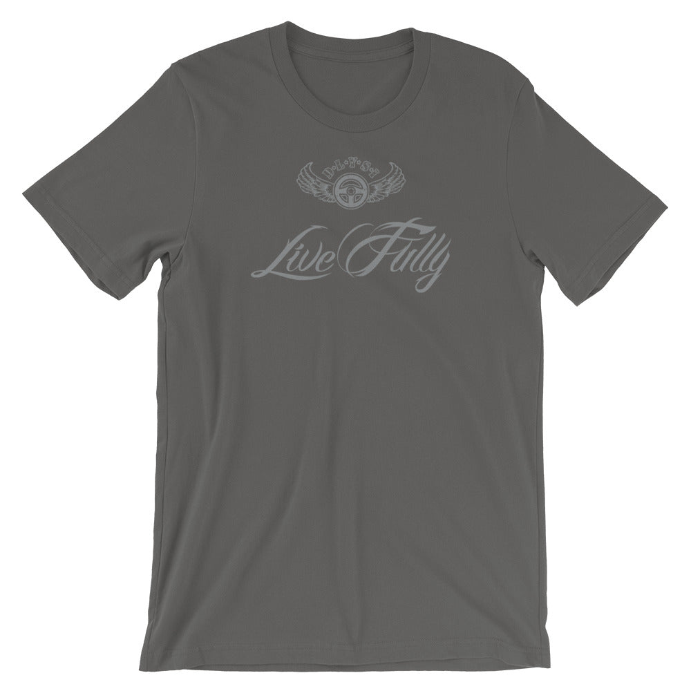 INSPIRED TO ... LIVE FULLY Men's Short-Sleeve T-Shirt