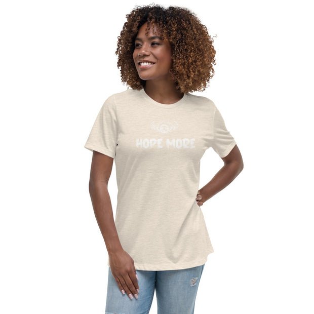 INSPIRED TO ... HOPE MORE Women's Relaxed T-Shirt