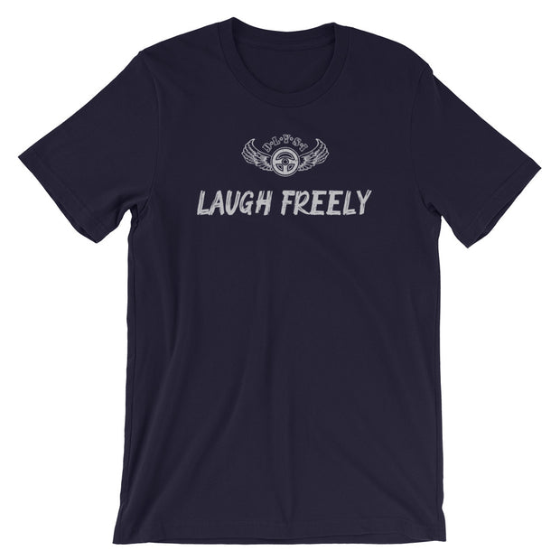 INSPIRED TO ... LAUGH FREELY Men's Short-Sleeve T-Shirt