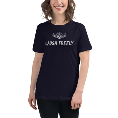 INSPIRED TO ... LAUGH FREELY Women's Relaxed T-Shirt