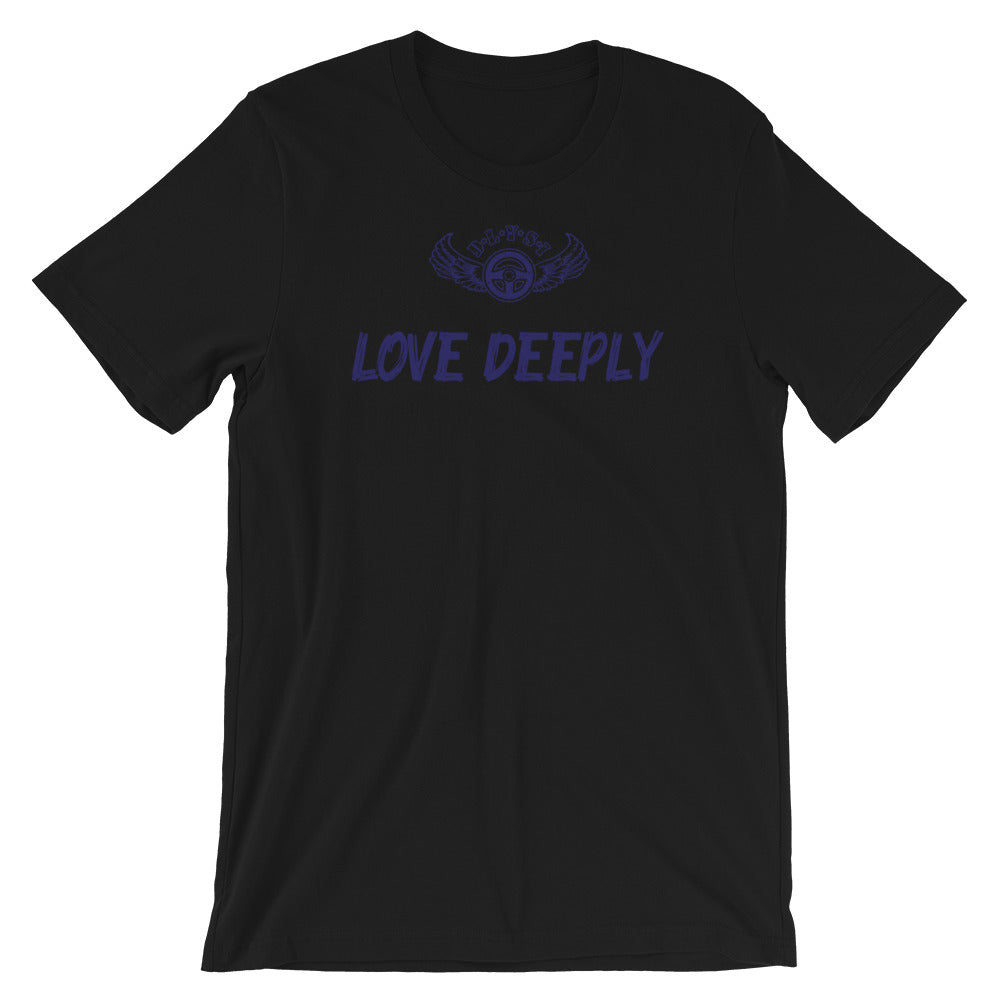 INSPIRED TO ... LOVE DEEPLY Men's Short-Sleeve T-Shirt