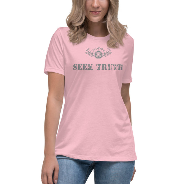 INSPIRED TO ... SEEK TRUTH Women's Relaxed T-Shirt