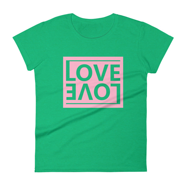 LOVE LOVE Women's Short Sleeve T-shirt