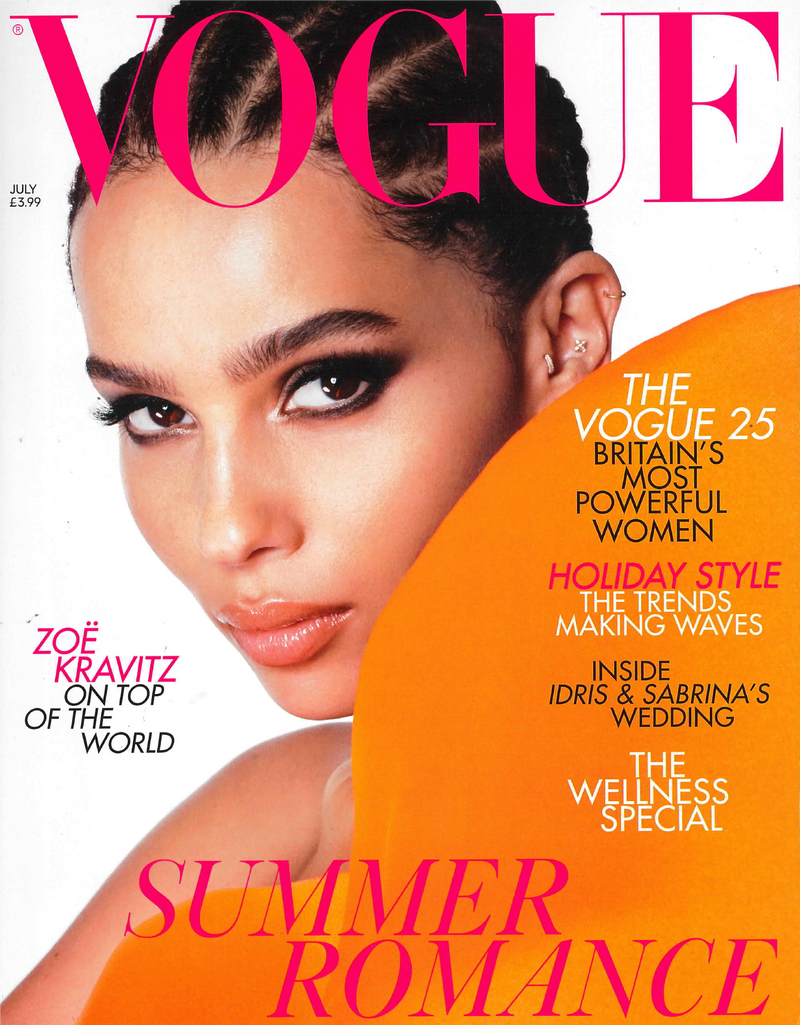 British Vogue July 2019