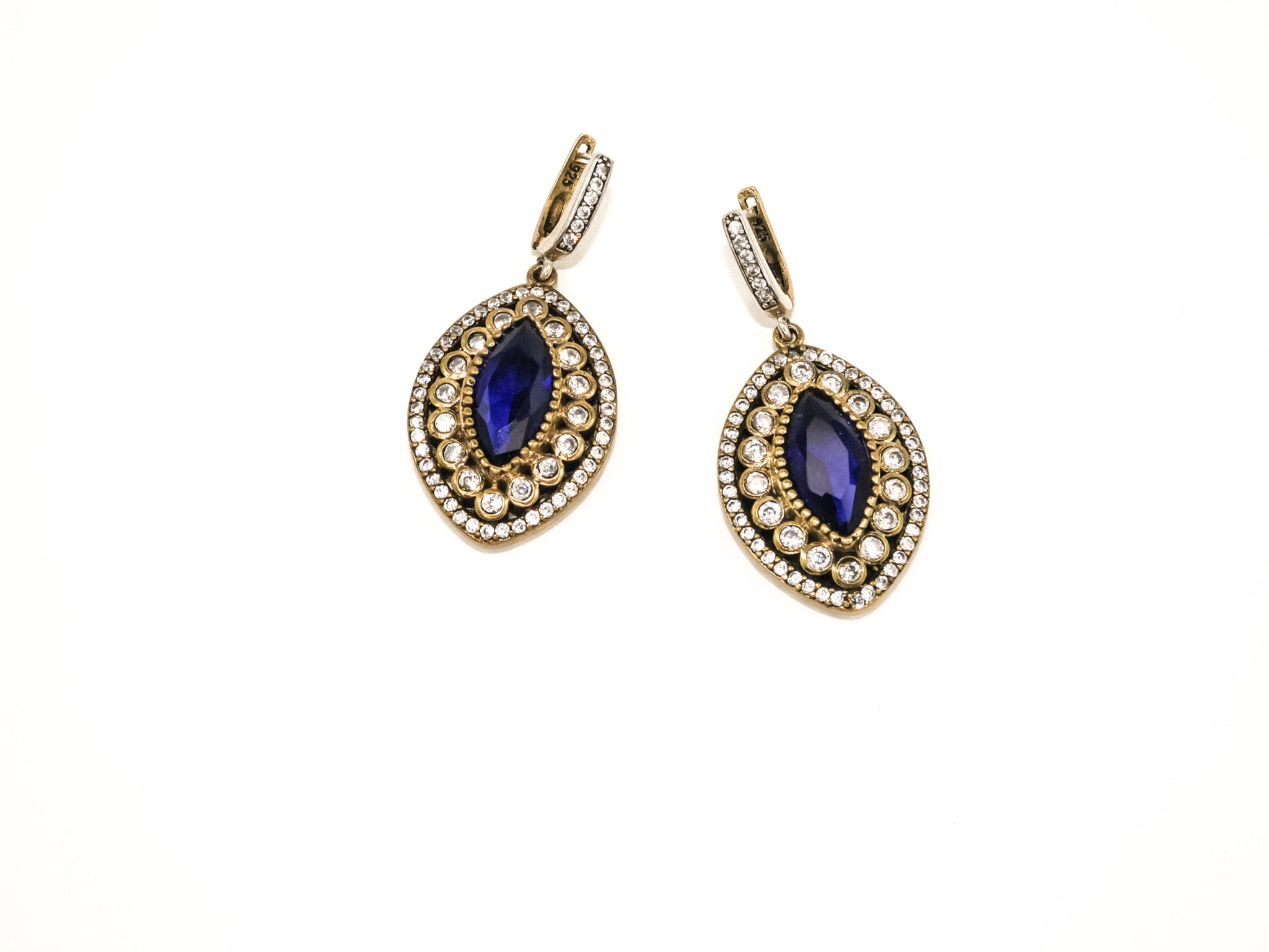 Sapphire Large Drops