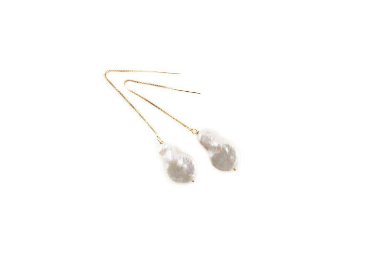 Kimberly Large Threader Earrings