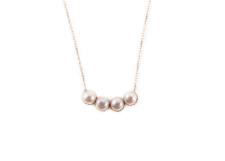 Cleopatra Pearl Necklace