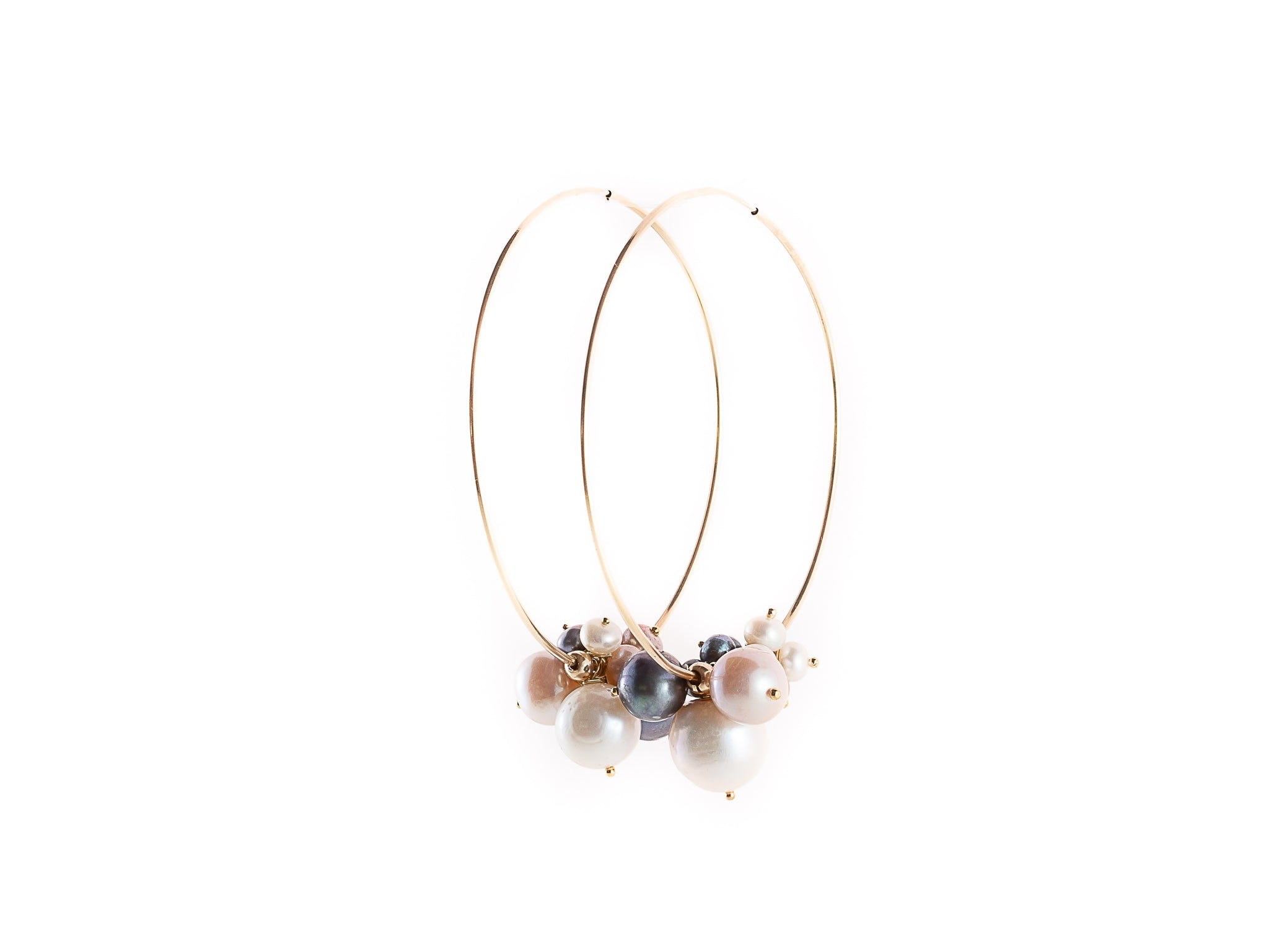Juvelle Pearls Hoop Earrings